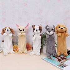 Puppy Pencil Case Plush Toys Cosmetic Storage Portable Gift Stationery Bag Purse