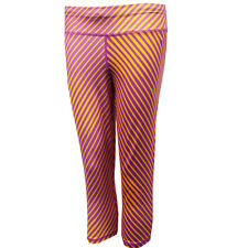 Puma Graphic Running 3/4 Dry Cell Womens Purple Fitness Tight 513759 04 EE58