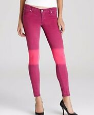 Nwt $187 Hudson Pink Ombre Krista Skinny Jeans 27 & 28
