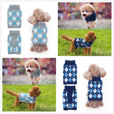 Pet Dog Warm Sweater Puppy Cat Shirt Winter Clothes Thick Apparel Jacket Coat
