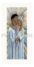 Nathaniel Barnes Spiritual Embrace Signed Giclee on Paper Limited Edition of 295