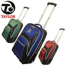 Taylor Bowls Grand Tourer Trolley Case Lawn Bowls Bag Travel Luggage With Wheels