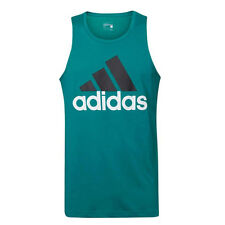Adidas Sport Essentials Mens Green Climalite Tank Top AK1804 U105