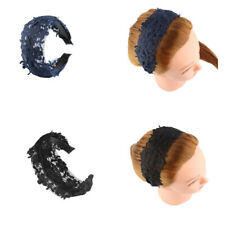 Women Girl's Alice Wide Flower Lace Band Hairband Hair Wrap Hair Accessories