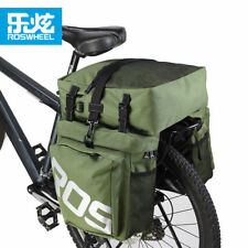 3 in 1 37L Bicycle Bike Bag Saddle Seat Trunk Pack MTB Cycling Rack Pannier