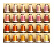 Hemingworth Embroidery Thread- PEACH and ORANGE PAGE- Convenient Color Families