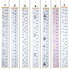 Baby Frame Wall Hanging Growth Chart Hanging Measurement Rulers Kids Room