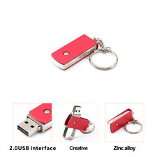 4/8/16/32/64GB Flash Drive USB2.0 Pendrive Memory Stick U Disk Swivel Design