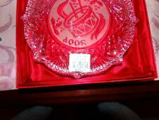 Waterford Crystal #9 Songs of Christmas Plate 2004 Little Drummer Boy Ireland