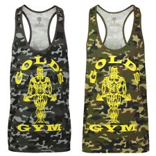 Golds Gym Muscle Joe Camo Premium Tank Top Stringer Muscle Current Collection