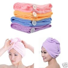 microfibre hair towel Drying Wrap Turbie Twist Cap Dryer Care hair towel
