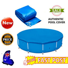 Fit 10/12 feet Diameter Round Swimming Pool Cover Roller Family Garden Pool PE
