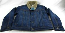 Mens NWT Joseph Abboud Jeans Inc Alpine Denim Jacket Coat Size M L XL 2X