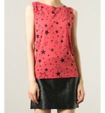 Saint Laurent Star Print Tank Top Tshirt Size 8-10 Ladies From Net A Porter