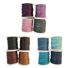 4pcs 1mm Waxed Cotton Cord Thread Rope for DIY Jewelry Necklace Bracelet Beading