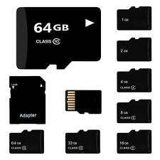 TF SD Card 32/16/8/4/2GB TF Flash Memory Card With Adapter Class 4-10 HF #Q9