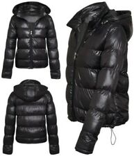 Womens Ladies Brave Soul Quilted Puffer Padded Parka Coat Jacket All Sizes