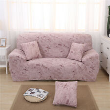 Stretch Sofa Slipcover Furniture Protector Dog Pet 1/2/3 Seater Jade Pink