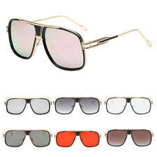 Large Oversized Fashion Sunglasses Square Shape UV400 Vintage Retro