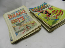 collection of Beano comics from issue 2400 to 2499 incomplete