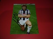 WBA. WEST BROM. WEST BROMWICH ALBION. HAND SIGNED PHOTO. 6X4. BRYAN ROBSON.