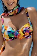 ANTIGEL DE LISE CHARMEL TOP SWIMSUIT THE THOUSAND PETAL Size 90 F