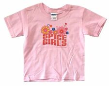 The Spice Girls Sparkle Flower Toddler Baby Pink T Shirt New Official Infant