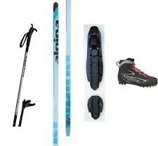 NEW ALPINA FRONTIER XC CROSS COUNTRY NNN SKIS/BINDINGS/BOOTS/POLES PACKAGE 190cm
