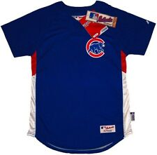 Chicago Cubs Majestic Youth Authentic Cool Base Batting Practice Jersey - NWT
