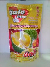 100% Thai King Fruit Monthong Durian by Vacuum Freeze Dried Durian Chips 215 g.