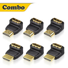 HDMI Combos 3D&4K Supported HDMI 90 Degree / 270 Degree Male to Female Adapter