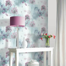 Arthouse Spring Meadow Flowers Floral Wallpaper Duck Egg 697400