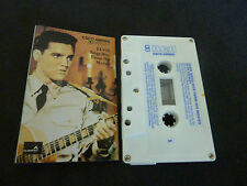 ELVIS SINGS HITS FROM HIS MOVIES ULTRA RARE AUSSIE CASSETTE TAPE!