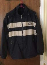 Cheneral Sports Boothbay Harbor Maine Reversible Navy Jacket ~ Medium