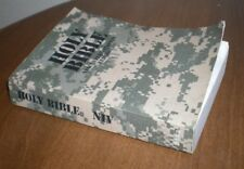Holy Bible NIV Army military camo Bible New and Old testaments