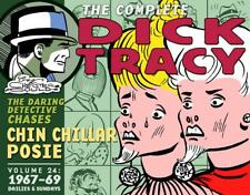 Complete Chester Gould's Dick Tracy Volume 24 by Chester Gould Hardcover Book Fr