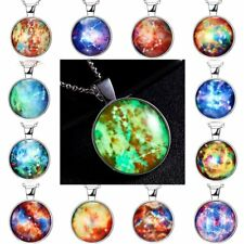 Fashion Glow in the dark Luminous Star Sign Constellation Pendant Necklace Gift