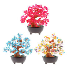 7'' Feng Shui Crystal Money Tree Office/Home Decorative Bring Wealth Luck