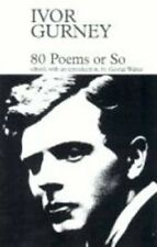 80 Poems or So (Fyfield Books) by Gurney, Ivor Paperback Book The Cheap Fast