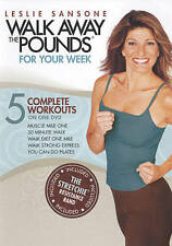 Leslie Sansone: Walk Away the Pounds - For Your Week with Band - NEW!!