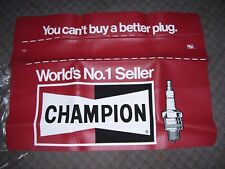 Vintage nos 70s Champion spark plugs accessory gm ford chevy rat rod pontiac ss (Fits: 1926 Chevrolet)