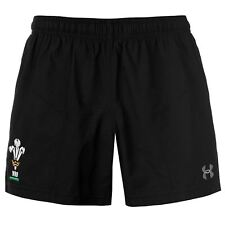 Under Armour Mens Wales Rugby Training Shorts Pants Trousers Bottoms Elasticated