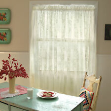 Heritage Lace Ivory Coventry Curtain Panel 45 Wx63 L Ebay