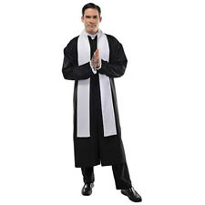 Father Catholic Priest Adult Costume - Standard Size up to Chest Size 42