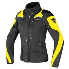 DAINESE TEMPEST D-DRY LADY BLACK BLACK FLUO YELLOW JACKET