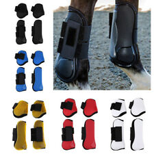 EQUINE SPORT HORSE JUMPING LEG PROTECTION FRONT HIND SUPPORT BOOTS LEW WRAPS