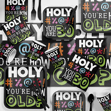 Creative Converting Holy Bleep Birthday Party Supplies Kit