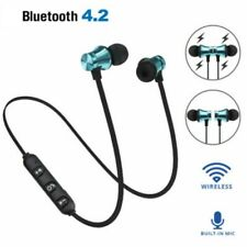 In-Ear Earbuds Earphone Bluetooth 4.2 Stereo Headphone Headset Wireless Magnetic