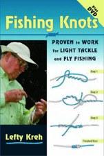 Fishing Knots: Proven to Work for Light Tackle and Fly Fishing (Book & DVD), Lef