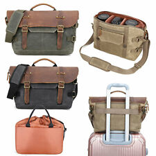 Waterproof DSLR SLR Camera Bag Insert Partition Padded Lens Pouch Case Canvas